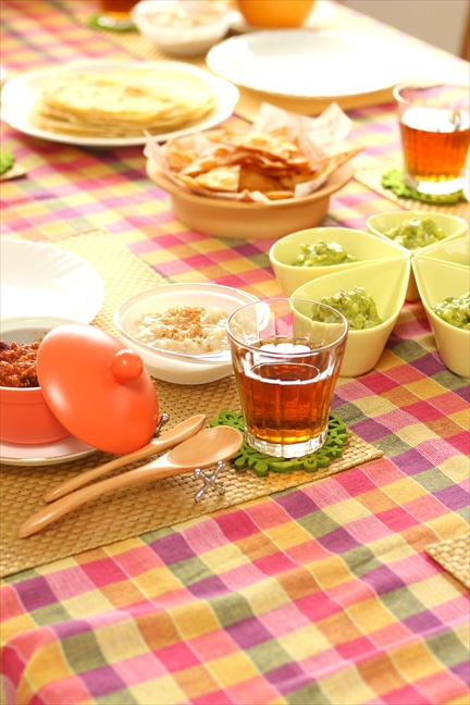 柏 料理教室 テーブルコーディネート