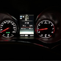 慣らし運転、もうちょっと。。参考燃費の記事に添付されている画像