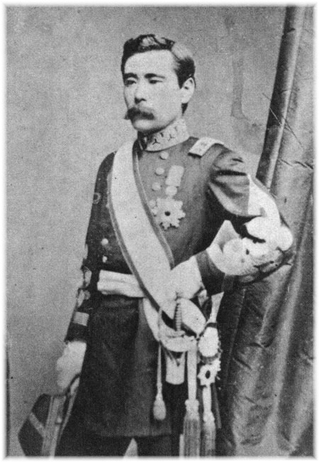 西郷従道侯爵家と近衛兵   日本...