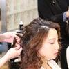 結婚式出張ヘアメイク/先日の撮影からふんわりミディアムヘアの画像