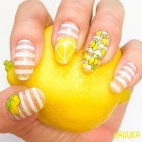 レモンネイルとレモンの記事に添付されている画像
