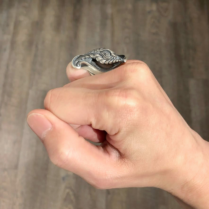 dualflow デュアルフロウ 大蛇 リング snake シルバーギークス