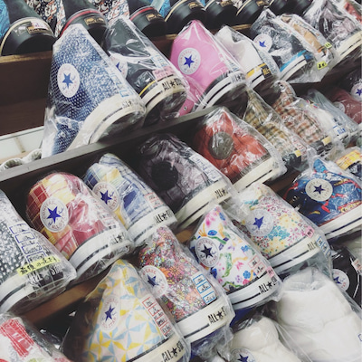 コンバースの聖地★柿本商店に行ってきまシタの記事に添付されている画像