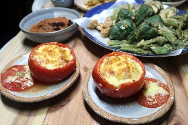 ブロッコリー の トマト ナス と