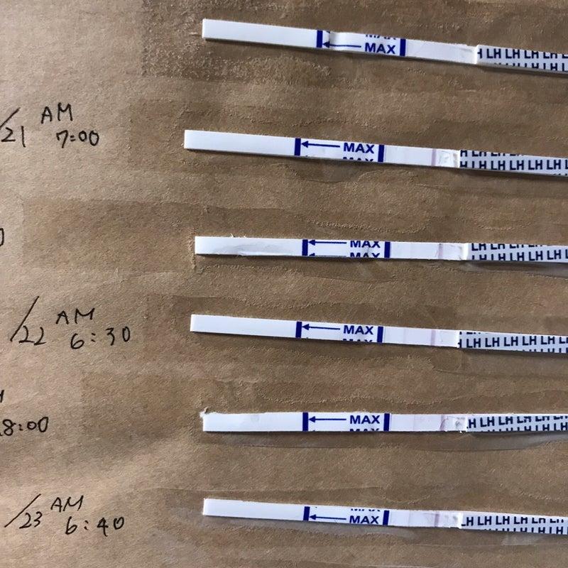 ドクターズチョイス 排卵検査薬 蒸発線