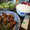 福島県西郷村にある『朝日や焼肉』さんの「ニラレバ炒めセット」レポート