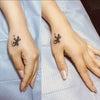 刺青★ヤモリのトライバル(手)カバーアップ!の画像