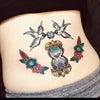 刺青★オールドスクール(腰)カラータトゥー!の画像