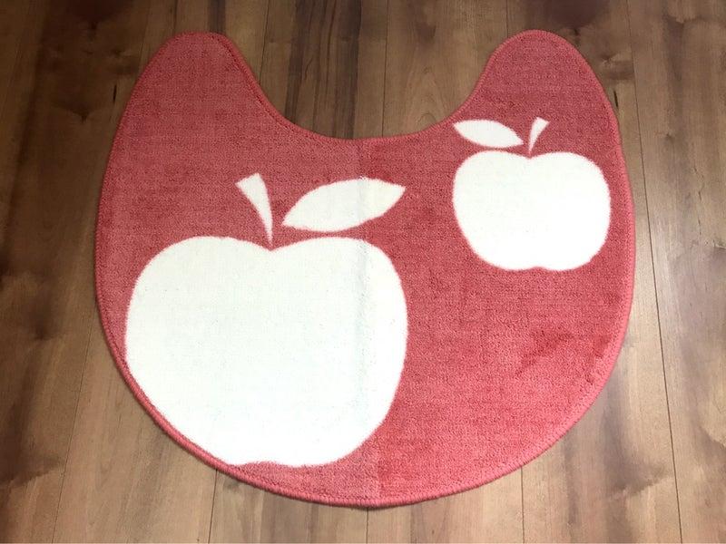 トイレマット ベルメゾン 赤りんご物語