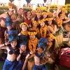 テマラマタヒチ タヒチアンファイヤーショー出番前の様子の画像