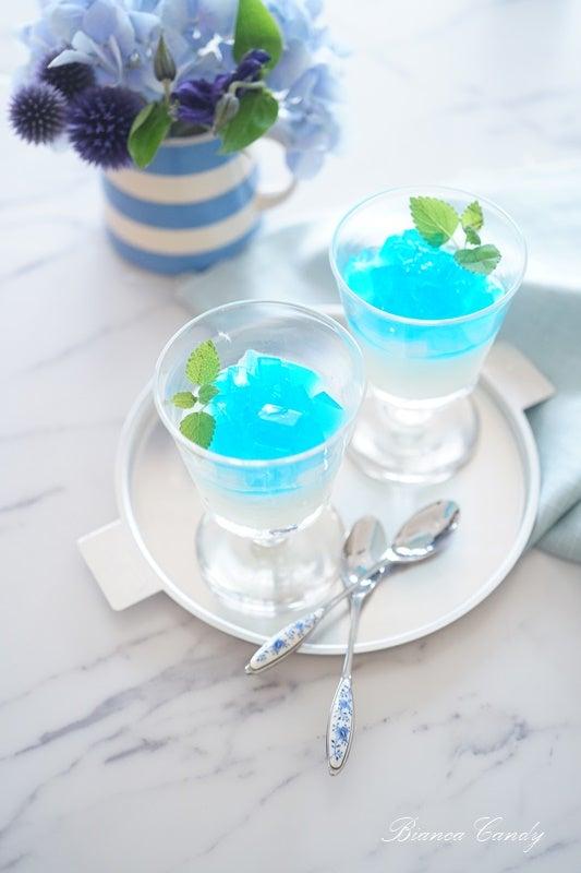 紫陽花 ゼリー レシピ
