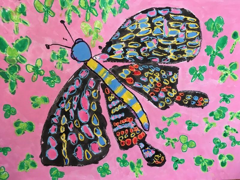 2018.06 虫の絵 | アトリエCIEL 子ども絵画造形教室