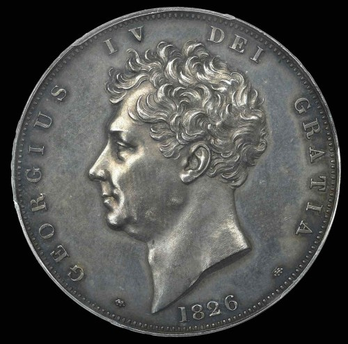 イギリス1826年銘 ジョージ4世 ...