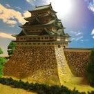 名古屋城1/350 完成の記事より