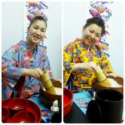 ひっしーと着物美魔女のぶくぶく茶体験(後編)@琉球茶道ぶくぶくの記事に添付されている画像
