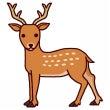 背筋を伸ばして 鹿背…