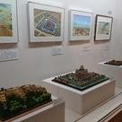 藤枝市郷土博物館で開催されてる 駿河田中城と香川元太郎城郭原画展にコラボ展示している私の作品の記事より