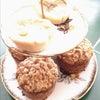 バタータルトとアップルシナモンクランブルマフィンの画像