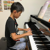 小4ピアノ男子君、面白い(^^♪の画像