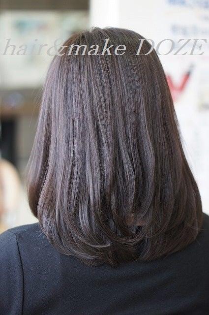 美髪オーガニックカラーとヘッドエステとメンテナンスカット。