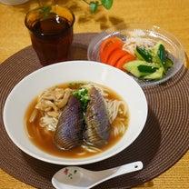 思い出の味、ナス素麺の記事に添付されている画像