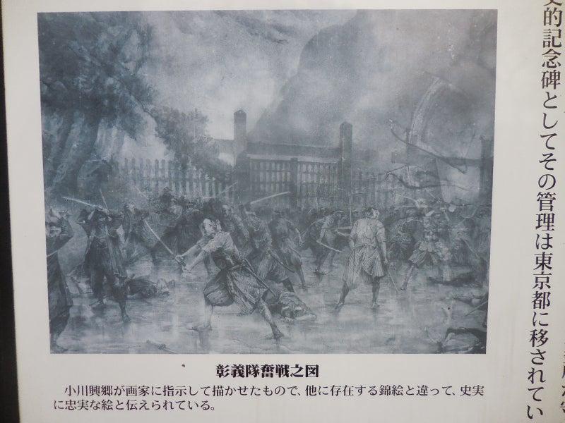 彰義隊と新政府軍の上野戦争図