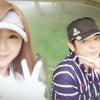 娘とゴルフの画像