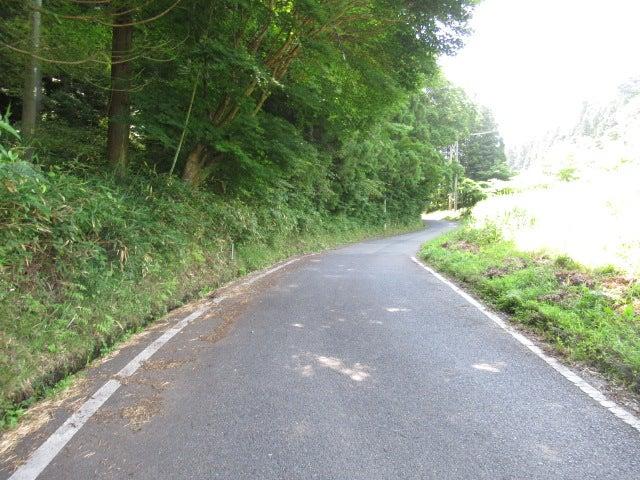 いわき水石トンネルの旧旧道を散...