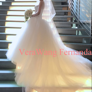【委託販売】VeraWang Fernanda(フェルナンダ)US0の画像