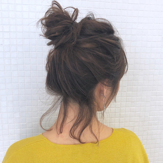 ボブでもお団子ヘアアレンジ hair arrange & hair set