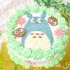 トトロ好きに♡となりのトトロケーキ♡の画像