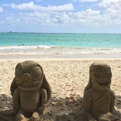カイルアビーチにリロアンドスティッチの記事に添付されている画像