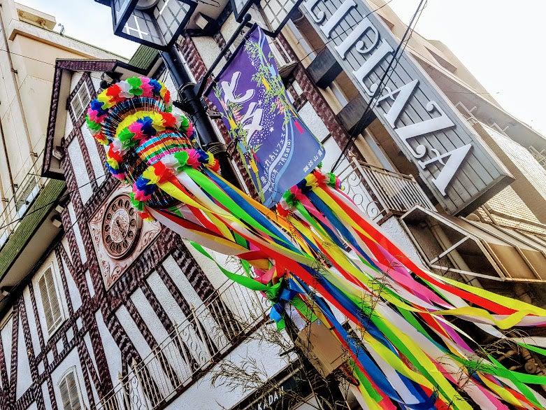明日、奥沢駅前で【七夕イベント】開催!色鮮やかな七夕飾りがレトロで懐かしい!