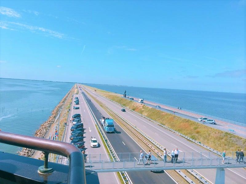 オランダ 大堤防観光ツアー 世界...