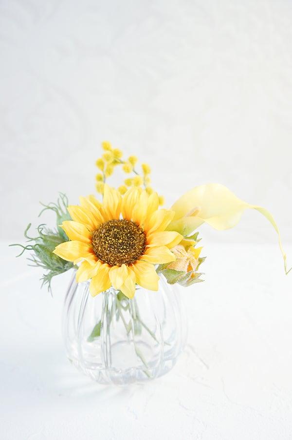 ヒマワリ ひまわり 向日葵 造花 アートフラワー