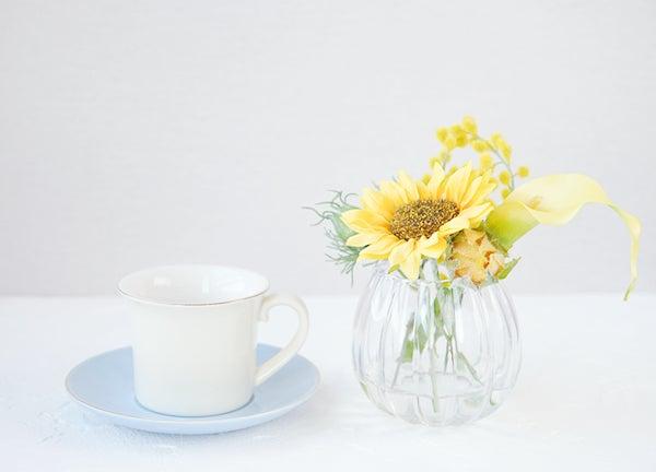 ヒマワリ ひまわり 向日葵 造花 玄関に飾る