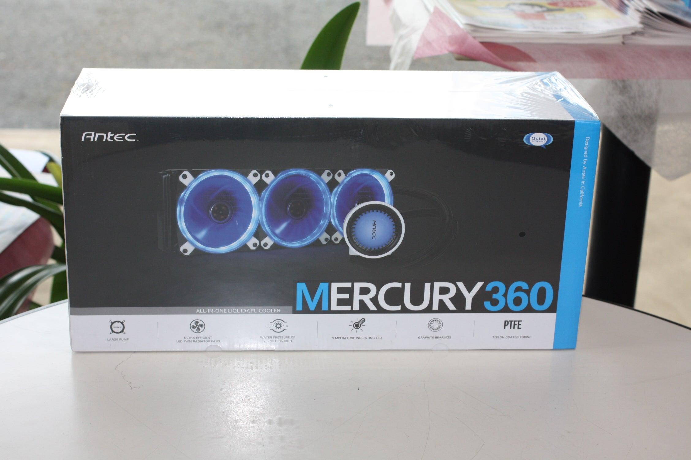 【Mercury360 RGB】 SYNC対応の水冷一体型ユニット ASUS AURA