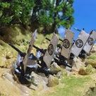 関ヶ原合戦の小早川秀明本陣のミニジオラマの完成です。の記事より