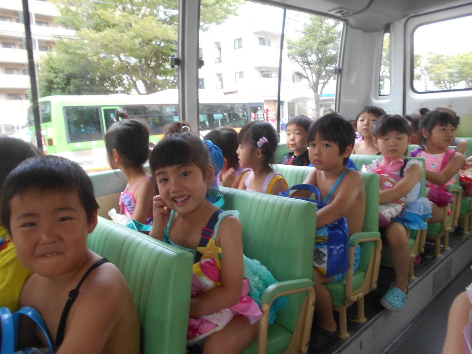 なぎさ幼稚園のブログ【第2607号】ゆき組 東野プール