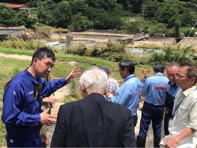 豪雨災害被災地での災害対応 7月...