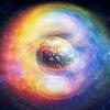 宙に六芒星❣️明日の蟹座の日食新月♡in沖縄の画像