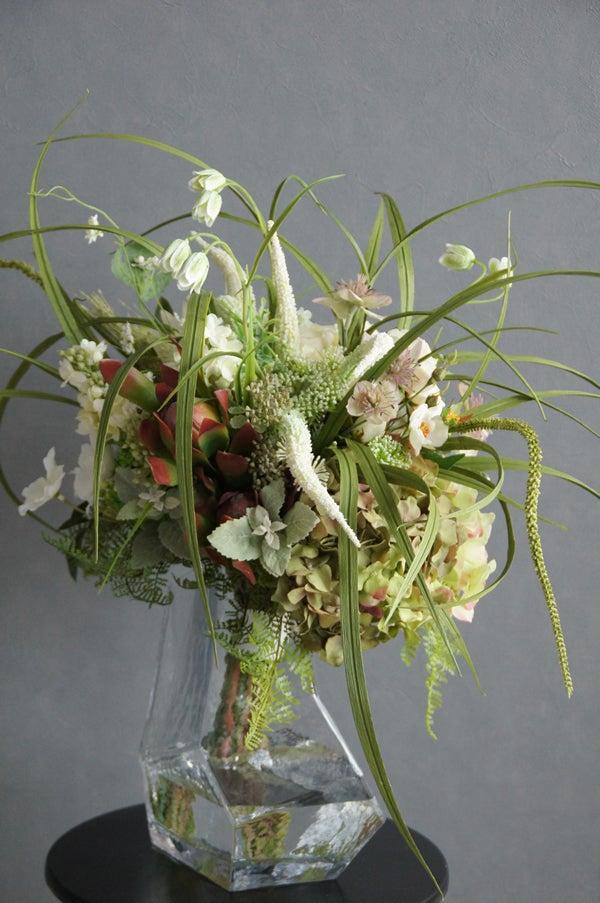 穂本物そっくりの造花 アーティフィシャル 受付に飾る お祝い オフィス