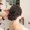 結婚式出張ヘアメイクBlog/秋婚花嫁さまのヘアメイクリハーサルからの画像
