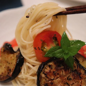 ★ ナストマトの冷製カッペリーニ