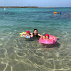 ファミリー向け!透明度の高い『竹野浜ビーチ』
