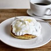 ココナッツミルククリームパンケーキ