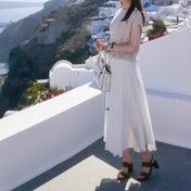 空気感が上品で素敵なリネンマキシスカート