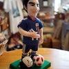長谷部選手のお人形の画像