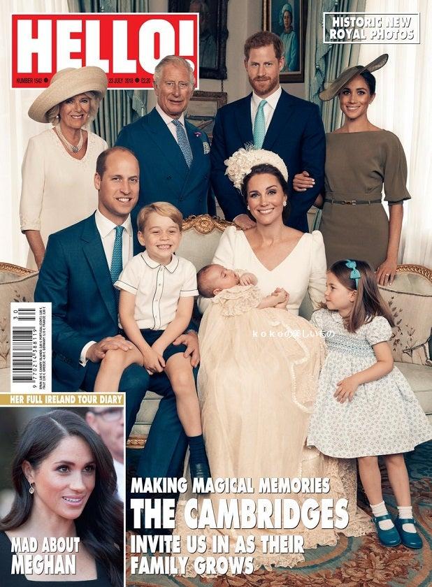英国王室キャサリン妃 メーガン妃 ルイ王子洗礼式 ファッション2018年7月9日