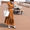 大人が着られるプチプラワンピース/水遊び